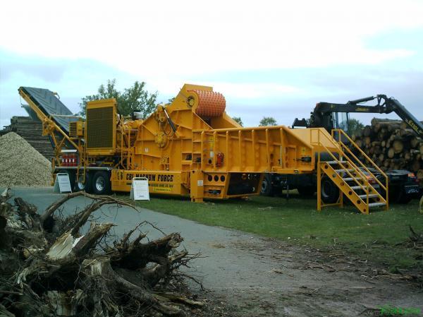 Измельчитель древесных отходов