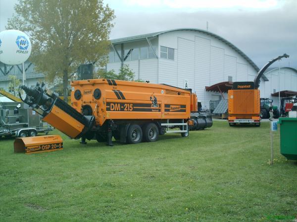 Измельчитель-ворошитель компоста Doppstadt DM-215