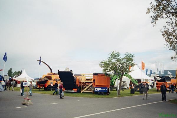 Фоторепортаж поездки на выставку Elmia Waste&Recycling 2006