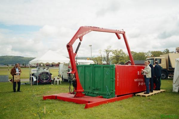 Валковый уплотнитель отходов Rotopress
