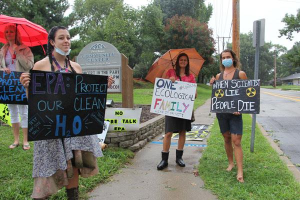 Протест против свалки