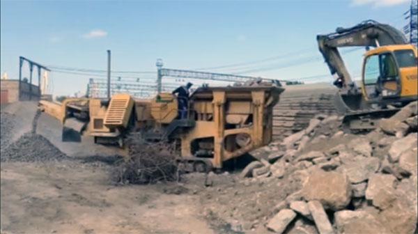 Дробилка строительных отходов
