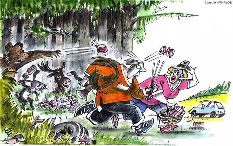 Звери выгоняют из леса любителей шашлыков