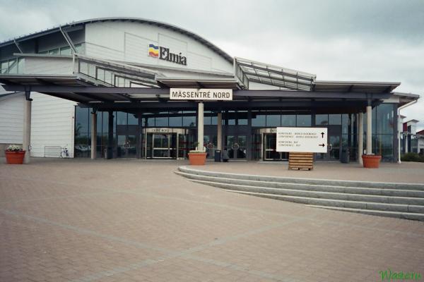 Главный вход в выставочный центр Elmia