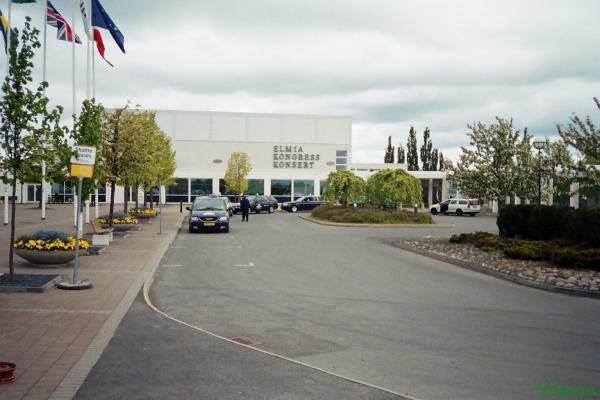 Здание конференц-зала Elmia
