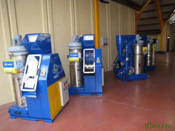 Установки для переработки отходов кабеля SINCRO 315