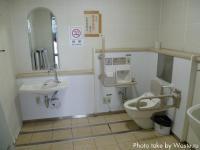 Туалет для инвалидов на железнодорожной станции