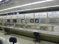 Центральный пульт управления мусоросжигательного завода Хикаригаока
