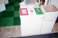 Картонные емкости для раздельного сбора офисного мусора