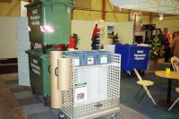 Офисная тележка для сбора отходов