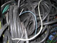 Отходы телефонного кабеля