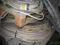 Отходы силового кабеля