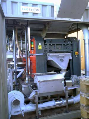 Мини завод по переработке мусора