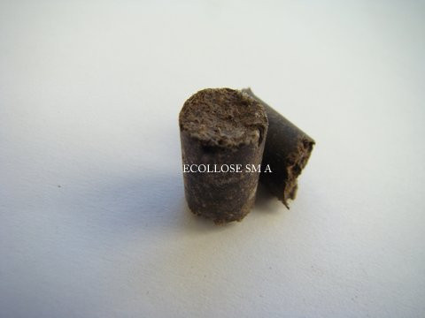 Прессованая гранула из вторичного целлюлозного волокна