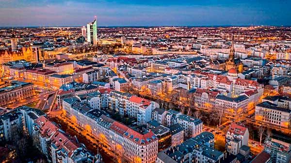 Город Лейпциг