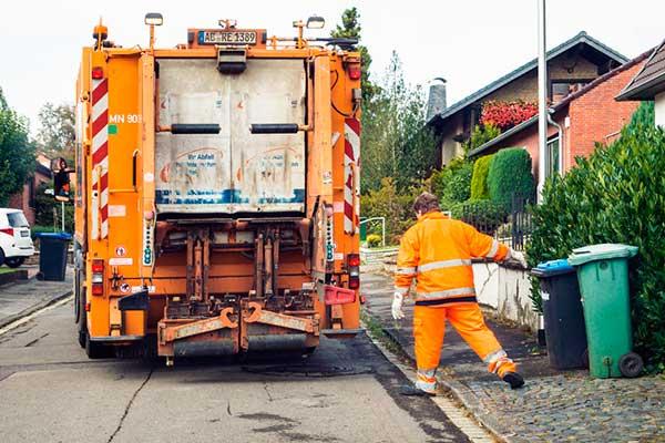 Вывоз коммунальных отходов в городе Лейпциг