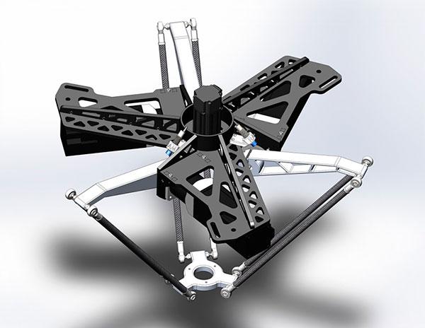 Робот манипулятор-трипод