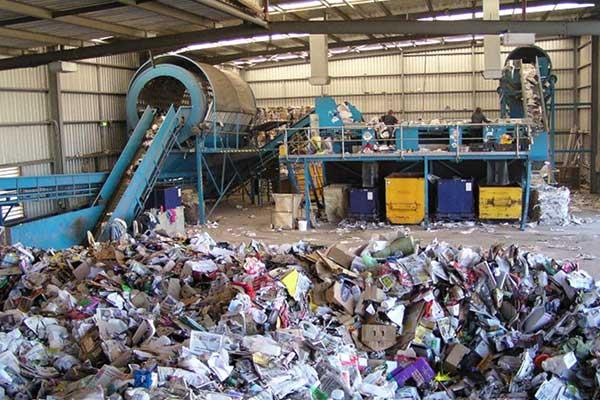 Цех по сортировке мусора
