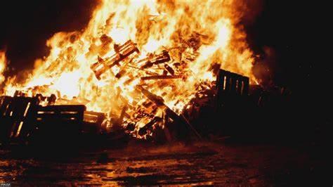 Сжигание древесных отходов