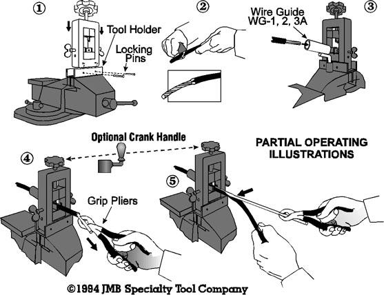 ручной станок для снятия изоляции с провода